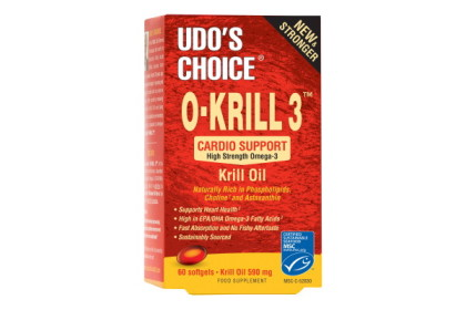 Udo's O-KRILL 3™ (60 softgel κάψουλες)